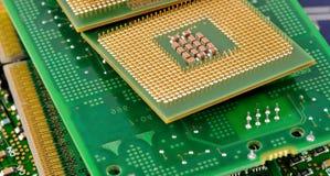 tarjeta de circuitos electrónicos Foto de archivo libre de regalías