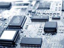 Tarjeta de circuitos electrónicos imagen de archivo libre de regalías