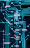 Tarjeta de circuitos fresca Foto de archivo