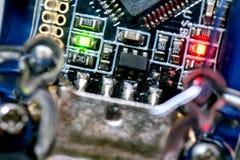 Tarjeta de circuitos genérica fotos de archivo libres de regalías