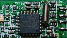 Tarjeta de circuitos genérica imagen de archivo libre de regalías