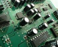 Tarjeta de circuitos I Foto de archivo libre de regalías