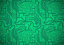 Tarjeta de circuitos impresos ilustración del vector