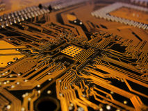 Tarjeta de circuitos impresos fotos de archivo