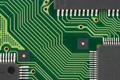 Tarjeta de circuitos impresos Imágenes de archivo libres de regalías