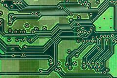 Tarjeta de circuitos impresos Fotos de archivo libres de regalías