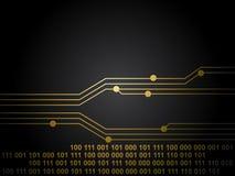 Tarjeta de circuitos negra libre illustration