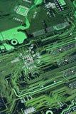Tarjeta de circuitos verde imágenes de archivo libres de regalías