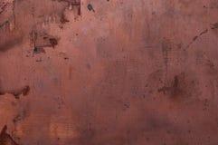 Tarjeta de cobre Imágenes de archivo libres de regalías