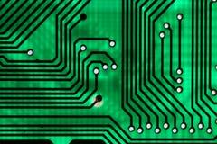 Tarjeta de control electrónico Imagen de archivo libre de regalías