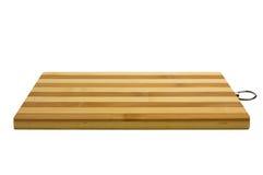 Tarjeta de corte de bambú Imagen de archivo libre de regalías