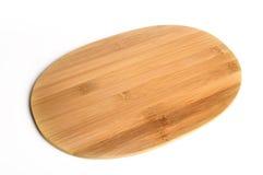 Tarjeta de corte de bambú Imagen de archivo
