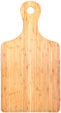 Tarjeta de corte de bambú (con los caminos de recortes) Fotos de archivo