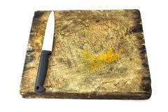 Tarjeta de corte de madera Imagen de archivo
