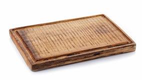 Tarjeta de corte de madera Fotos de archivo libres de regalías