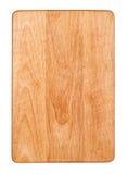 Tarjeta de corte de madera fotografía de archivo