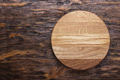 Tarjeta de corte de madera Foto de archivo