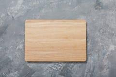 Tarjeta de corte de madera Para cocinar la comida Accesorios de la cocina Para su diseño Imágenes de archivo libres de regalías