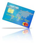 Tarjeta de crédito Imágenes de archivo libres de regalías