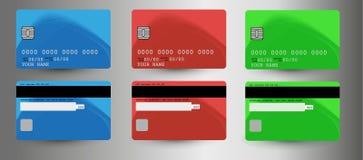 Tarjeta de crédito Fotos de archivo libres de regalías
