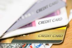 Tarjeta de crédito Fotos de archivo