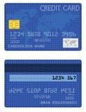 Tarjeta de crédito de las estrellas Fotografía de archivo