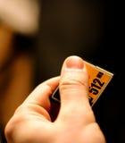 Tarjeta de destello compacta, memoria para las cámaras digitales Fotos de archivo