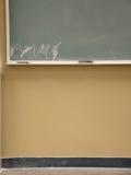 Tarjeta de escritura de la sala de clase Foto de archivo