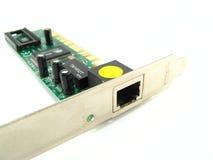 Tarjeta de Ethernet Imágenes de archivo libres de regalías