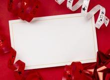 Tarjeta de felicitación Imágenes de archivo libres de regalías
