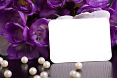Tarjeta de felicitación Fotos de archivo