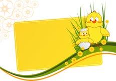 Tarjeta de felicitación stock de ilustración
