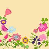 Tarjeta de felicitación libre illustration