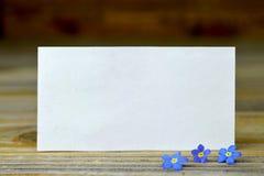 Tarjeta de felicitación fotos de archivo libres de regalías