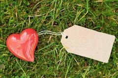 Tarjeta de felicitación al aire libre Imagen de archivo libre de regalías