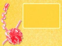 Tarjeta de felicitación china de oro del Año Nuevo Imagen de archivo libre de regalías