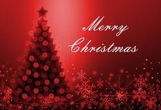 Tarjeta de felicitación con la Navidad libre illustration