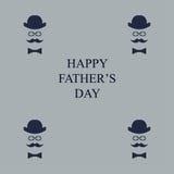 Tarjeta de felicitación Día del `s del padre Libre Illustration