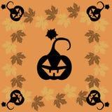 Tarjeta de felicitación de Halloween Foto de archivo