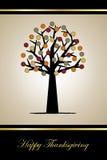 Tarjeta de felicitación de la acción de gracias Foto de archivo libre de regalías