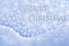 Tarjeta de felicitación de la Feliz Navidad fotos de archivo