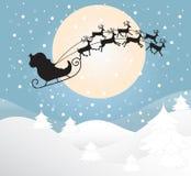 Tarjeta de felicitación de la Feliz Navidad Foto de archivo libre de regalías