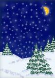 Tarjeta de felicitación de la Navidad Fotografía de archivo libre de regalías