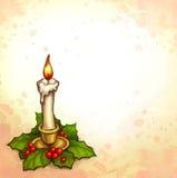 Tarjeta de felicitación de la Navidad libre illustration