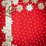 Tarjeta de felicitación de la Navidad con el espacio para el texto Fotos de archivo libres de regalías