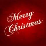Tarjeta de felicitación de la Navidad. Ejemplo del vector Fotografía de archivo libre de regalías