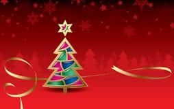 Tarjeta de felicitación de la Navidad y de los Nuevo-Años libre illustration
