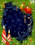 Tarjeta de felicitación de la Navidad y del Año Nuevo 3 Fotografía de archivo libre de regalías