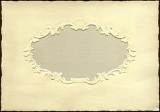 Tarjeta de felicitación de la vendimia Foto de archivo libre de regalías