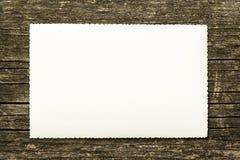 Tarjeta de felicitación de la vendimia Fotografía de archivo libre de regalías